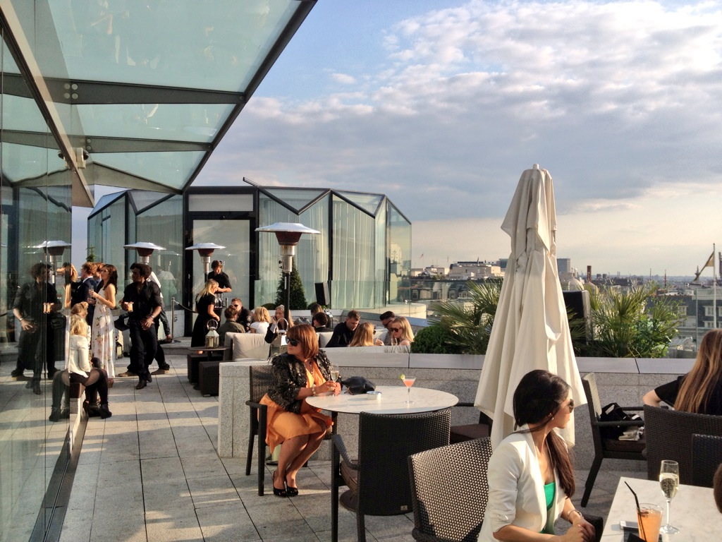 Radio Rooftop Bar at London's ME Hotel | Style on the Run